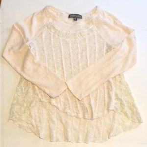 Almost Famous Asymmetrical Long Sleeve Top